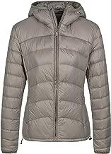 Wantdo Women's Hooded Packable Lightweight Chevron Down Jacket Winter Outerwear
