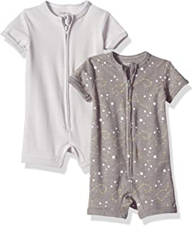 Hanes Ultimate Baby Zippin 2 Pack Rompers