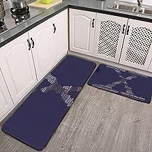 Wisdom of the X-Files Tapis de cuisine antidérapant et confortable pour cuisine, sol, maison, bureau, évier, buanderie