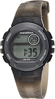 Timex Womens Quartz Watch, Digital Display and Resin Strap - TW5M32500