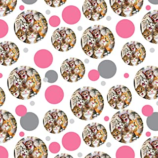 GRAPHICS & MORE Cats Selfie at London Palace England Britain Premium Gift Wrap Wrapping Paper Roll