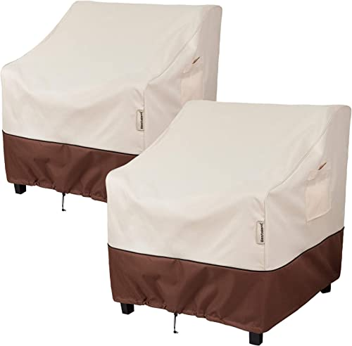 """Bestalent Patio Chair Covers Heavy Duty Outdoor Furniture Covers Waterproof Fits up to 32"""" W x 37"""" D x 36"""" H 2Pack"""