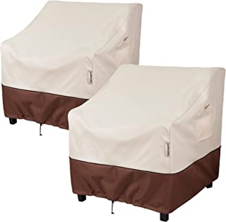 """Bestalent Patio Chair Cover Waterproof Outdoor Furniture Chair Cover Fits up to 29"""" W x 30"""" D x 36"""" H 2pack"""