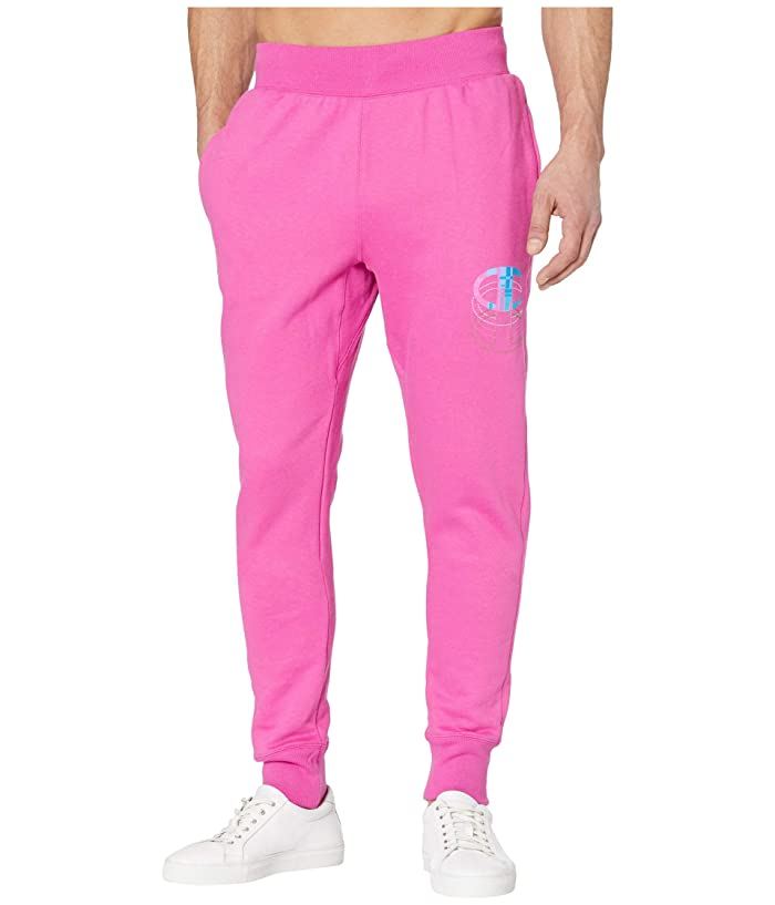 80s Men's Clothing | Shirts, Jeans, Jackets for Guys Champion LIFE Reverse Weaver Jogger Peony Parade Pink Mens Casual Pants $41.25 AT vintagedancer.com