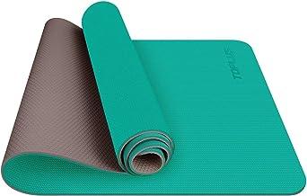 TOPLUS Yogamat, gymnastiekmat, van thermoplastisch elastomeer, recyclebaar, zeer slipvast en duurzaam, 183 x 61 x 0,6 cm, ...
