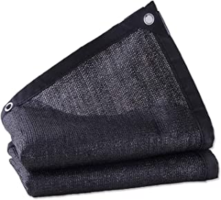 75% Shade Panel, Sunblock Shade Cloth Rectangle Hdpe Permeable Cloth with Grommets, Shade Fabric with Grommets Cover Canop...
