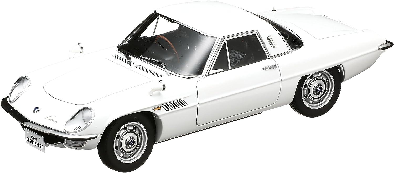 Street series MAZDA Cosmo Sport White  Autoart 1 18 Diecast Model Car [Toy] (japan import)