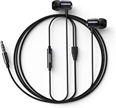 in Ear Headphones Wired Earbud with Line-in Microphone Heavy Bass Dynamic Driver Earphones with Non Tangle Fabric Braid fo...