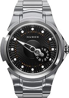 NUBEO - Reloj automático para hombre Satellite 2.0 Limited | Reloj de hombre | Automático | Plateado