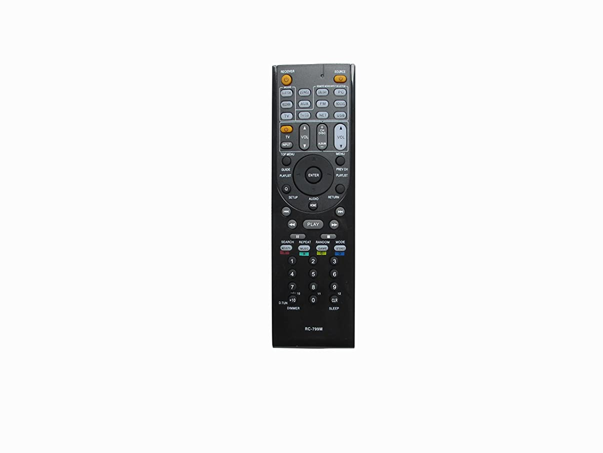 HCDZ New General Replacement Remote Control Fit For Onkyo HT-SR578 TX-SR608 HT-S3700 HT-S5700 A/V AV Receiver