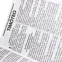 Bíblia Sagrada - Letra Extra Gigante. Capa em Couro Bonded com Índice Digital. Preta