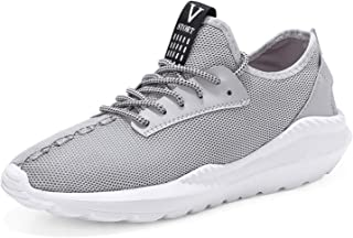 Sneakers Men 2018 Breathable Shoes TeCasual Masculino Lightweight Men Shoes Summer Footwear Zapatillas Hombres Gray 10.5