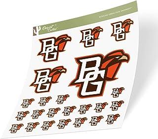 Bowling Green State University BGSU Falcons NCAA Sticker Vinyl Decal Laptop Water Bottle Car Scrapbook (Sheet Type 3-1)