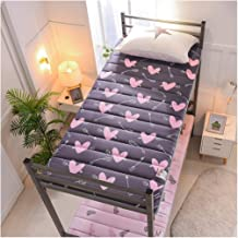 WYHDX Tatami Mattress Futon Mattress Topper Soft Thick Folding Mattress Pad for Student Dormitory, Home, Bed, As Guests Sleeping Pad, Futon Mattress, Floor Mattress,G,70x160cm(28x63inch)
