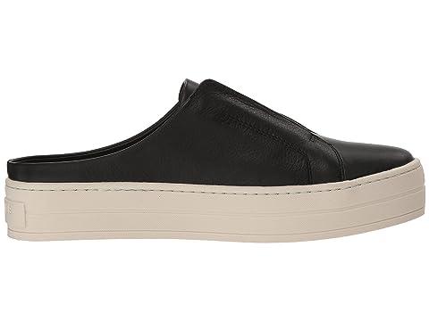 J Hara LeatherGrey LeatherWhite Black Slides Leather rHqx5rw