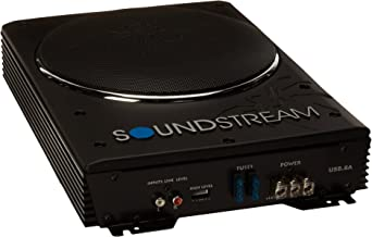 Soundstream USB-8A 8-Inch Powered Subwoofer Slim Enclosure