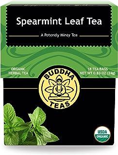 Sponsored Ad - Buddha Teas Organic Spearmint Tea | 18 Bleach-Free Tea Bags | Made in the USA | Caffeine-Free | No GMOs