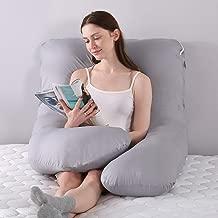 PREGNANCY TIME Cotton Ultra Soft Fabric Pregnancy/Maternity Pillow (Wgt 2.5 KG - 229 X 115 X 22 cm)