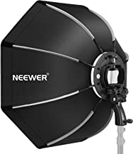 Neewer 26 inches/65 centimeters Octagonal Softbox with S-type Bracket Mount,Carrying Case for Canon Nikon TT560 NW561 NW562 NW565 NW620 NW630 NW680 NW670 750II NW910 NW880 Flash Speedlites