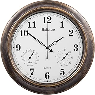 Best large outdoor clock for pool area Reviews