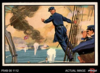 1954 Bowman U.S. Navy Victories # 14 Full Speed Ahead (Card) Dean's Cards 5 - EX 2706270