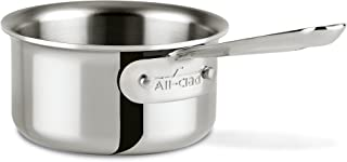 ALL-CLAD 42006 D3 Stainless 0.5 Qt. Butter Warmer w/ Pour Lip, Silver