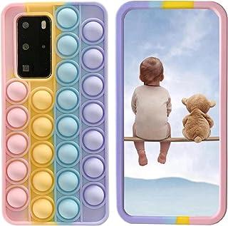 "XYOUNG Case for Huawei Enjoy 20 Pro/Huawei Enjoy Z 5G (6.5""), Push Bubble Sensory Fidget Toy Case Release Stress Protectio..."