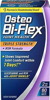 Osteo Bi-Flex® Triple Strength w/ MSM, 80 Coated Tablets