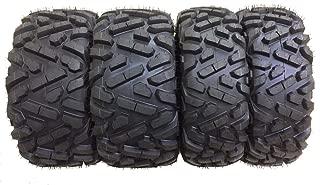 Set of 4 New ATV Tires AT 27x10-12 Front & 27x12-12 Rear /6PR P350-10170/10175