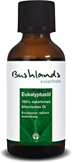 Bushlands essentials naturreines ätherisches Eukalyptusöl eucalyptus radiata australiana 50 ml