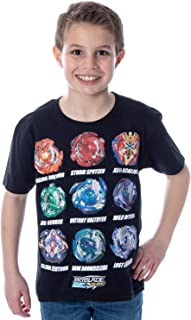 Beyblade Burst Boys' Spinner Tops T-Shirt