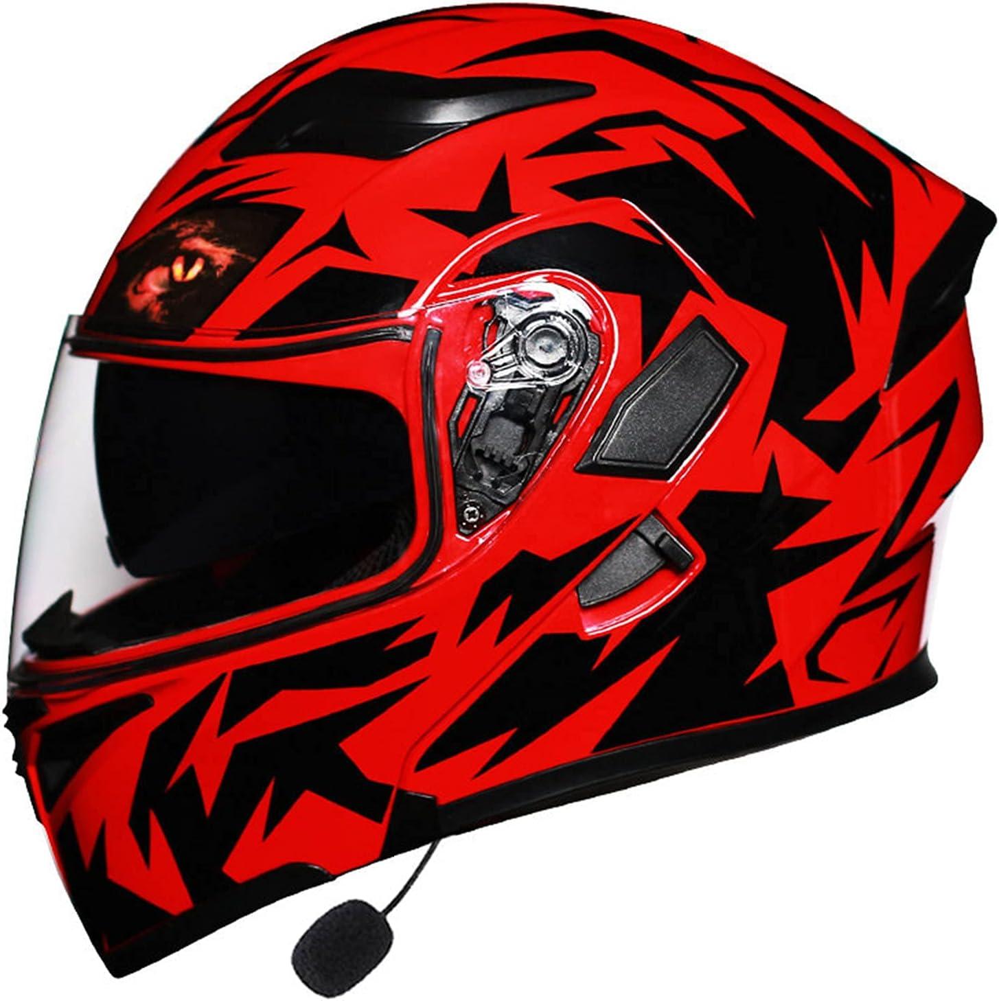Open-Face Motorbike Helmets Full Bluetooth Face Max 69% OFF New mail order Helmet