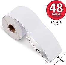 enKo (48 Rolls, 14,400 Labels) Address, Shipping & Barcode Labels 30256 (2-5/16 x 4