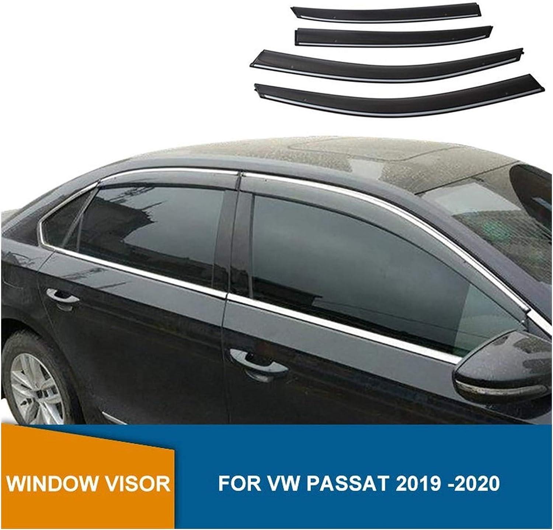 MYDH Window Visor Deflectors for Cheap mail order shopping unisex VW 2019 Passat Wi 2020 Side