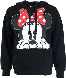 Adults Minnie Mouse Peeking Fleece Hoodie