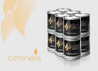 SunJel Fume-free Firespace Gel Fuel Canister, Citronella Gel, 12-Pack