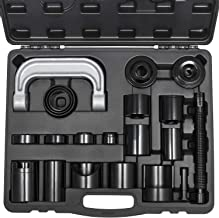 Yoursme Universal Master Ball Joint Press U-Joint Puller Removal Service Adapter Set Auto Install Remove Tool Kit 21PCS