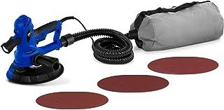 MSW Lijadora De Paredes Y Techos MSW-DWS750WB (750 W, 1300-2500 Tr/Min, Ø180 mm, 18 discos de lijado, Luz LED, tubo de aspiración, bolsa de polvo)