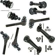Front Tie Rod End Ball Joint Idler Arm Steering Suspension Kit Set 10pc for Van