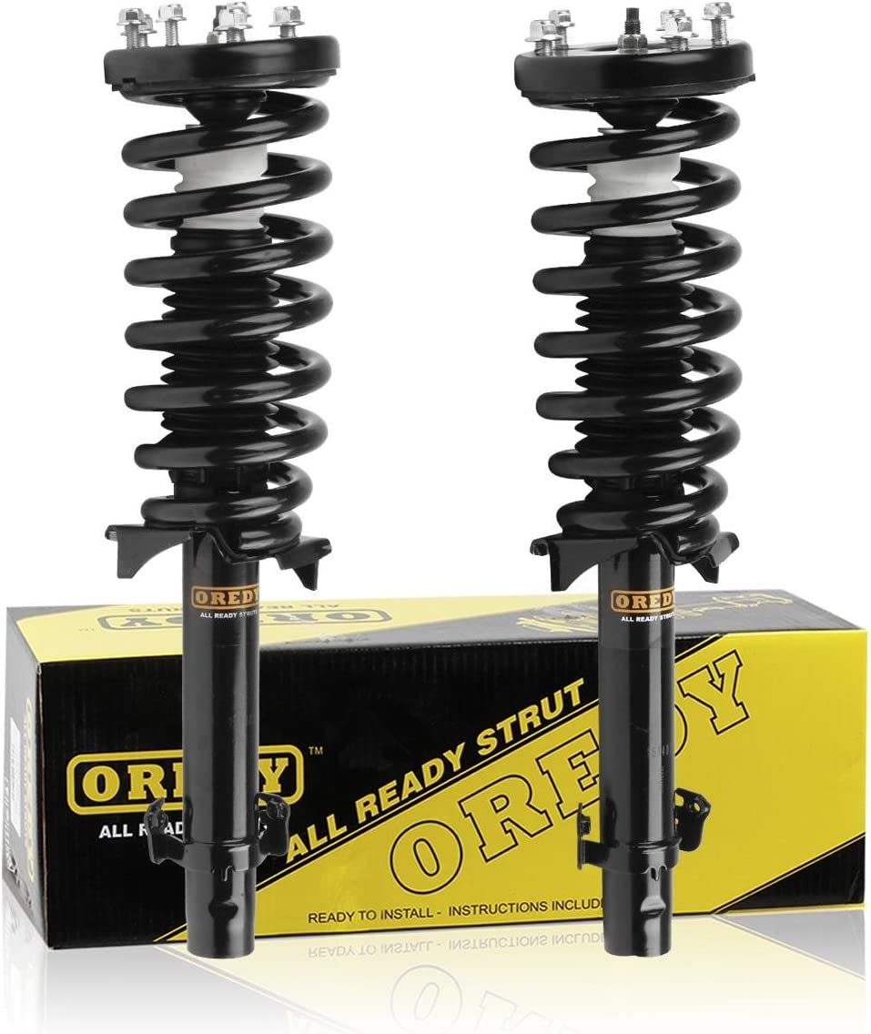 OREDY Front Ranking TOP8 Daily bargain sale Pair Complete Shocks Struts Kit Spring Assembly Coil