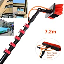 AINIYF Water Fed Pole Kit& Outdoor Window Cleaner Window Glass Photovoltaic Solar Panel Cleaning System Washing Equipment ...