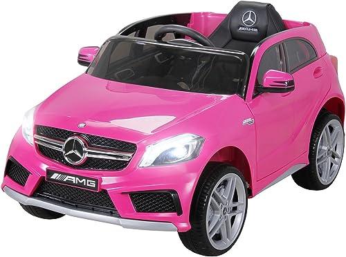 genuina alta calidad PEQUENENES Coche ELéCTRICO para Niños Mercedes Mercedes Mercedes A45 AMG 12V RC  60% de descuento