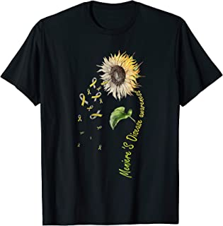 Meniere's Disease Awareness Sunflower Shirt