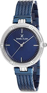Daniel Klein Womens Quartz Watch, Analog Display and Stainless Steel Strap DK12193-2