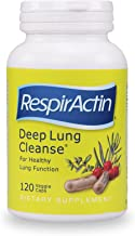 Deep Lung Cleanse 120 Veggie Caps - Herbal Respiratory Supplements for Clearer Breathing   Respiratory System Support