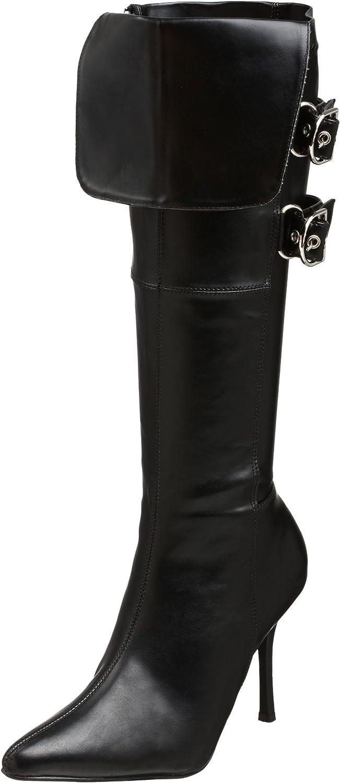 Funtasma by Pleaser Women's Halloween Pirate-125 Boot Black