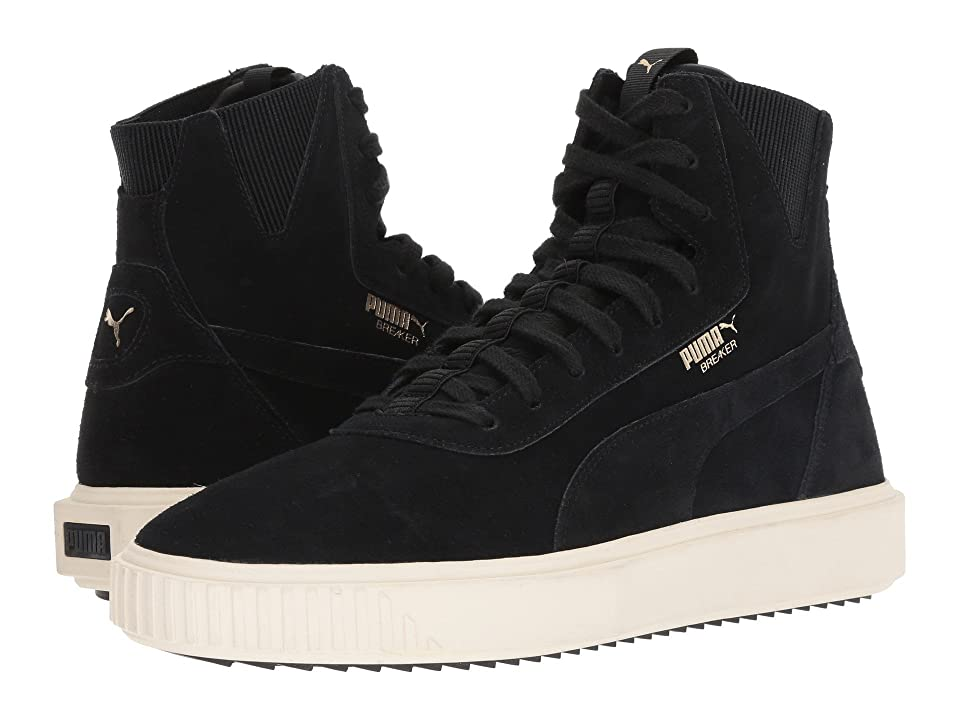 PUMA Breaker Hi (Puma Black/Whisper White) Men