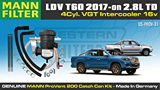 Provent Oil Catch Can Kit for LDV Maxus T60 (2017) 2.8L Turbo Diesel 4Cyl. VGT