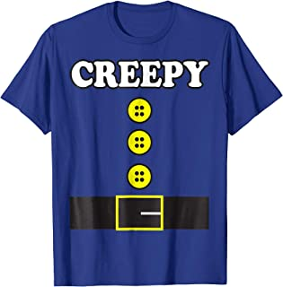 Halloween Costume Shirt Creepy Elf Dwarf Seven Office Diy