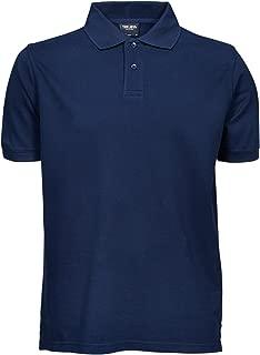 Mens Heavy Pique Short Sleeve Polo Shirt